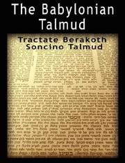 Cover of: The Babylonian Talmud