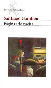 Cover of: Paginas De Vuelta / Turned Pages (Biblioteca Breve (Bogota, Colombia).)