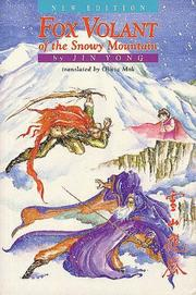Cover of: Fox Volant of the Snowy Mountain
