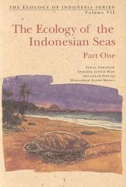Cover of: The ecology of the Indonesian seas |