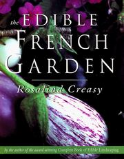 Cover of: The edible French garden