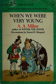 Cover of: When we were very young | A. A. Milne