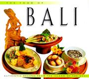 Cover of: The Food of Bali