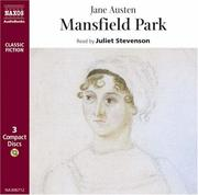 Cover of: Mansfield Park