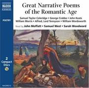 Cover of: Great Narrative Poems of the Romantic Age (Poetry)