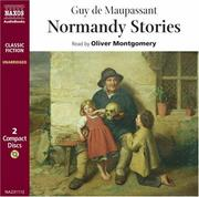 Cover of: Normandy Stories | Guy de Maupassant