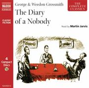 Cover of: The Diary of a Nobody (Classic Literature with Classical Music) | George Grossmith