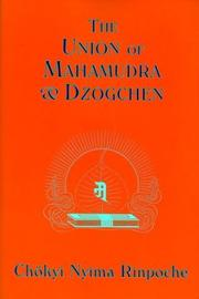 Cover of: Union of Mahamudra and Dzogchen | Chokyi Rinpoche