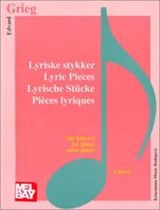 Cover of: Lyrical Pieces