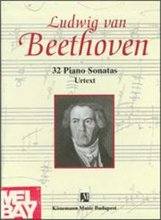 Cover of: Beethoven, 32 Piano Sonatas