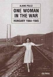 Cover of: One woman in the war