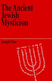 Cover of: The ancient Jewish mysticism