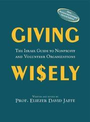 Cover of: Giving wisely