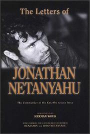 Cover of: The letters of Jonathan Netanyahu