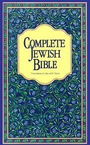 Cover of: Complete Jewish Bible |