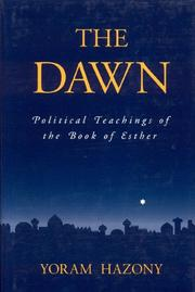 Cover of: dawn | Yoram Hazony