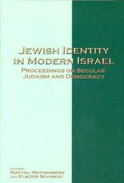 Cover of: Jewish Identity in Modern Israel