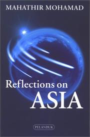 Cover of: Reflections on Asia