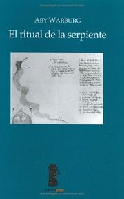 Cover of: El ritual de la serpiente