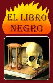 Cover of: El Libro Negro/the Black Book