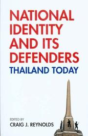 Cover of: National Identity and Its Defenders | Craig J. Reynolds