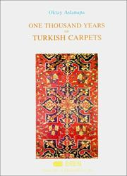 Cover of: One Thousand Years of Turkish Carpets