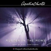 Cover of: Murder in the mews