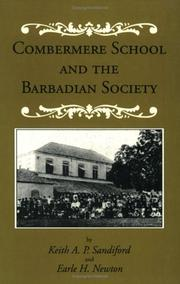 Cover of: Combermere School and the Barbadian society