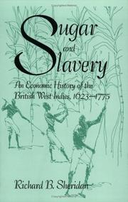 Cover of: Sugar and slavery