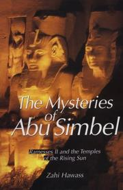 Cover of: The Mysteries of Abu Simbel | Zahi Hawass