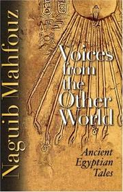 Cover of: Voices from the Other World: Ancient Egyptian Tales