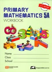 Cover of: Primary Mathematics 5a | Singapore.