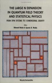Cover of: The Large N Expansion in Quantum Field Theory and Statistical Physics | E. Brezin