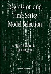 Cover of: Regression and time series model selection