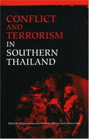 Cover of: Conflict and terrorism in southern Thailand | Rohan Gunaratna