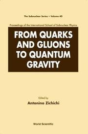 From quarks and gluons to quantum gravity