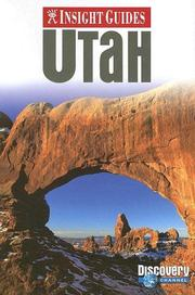 Cover of: Insight Guides Utah | John Gattuso