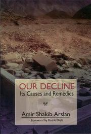 Cover of: Our decline