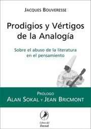 Cover of: Prodigios y Vertigos de La Analogia