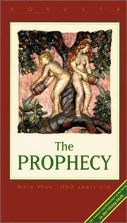Cover of: The Prophecy |