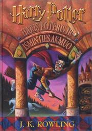 Cover of: Haris Poteris ir Isminties Akmuo (Lithuanian edition of Harry Potter and the Sorcerer's Stone) by J. K. Rowling