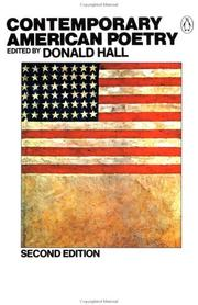 Cover of: Contemporary American Poetry | Various