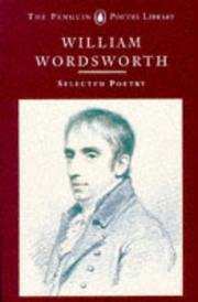 Cover of: Selected poetry | William Wordsworth