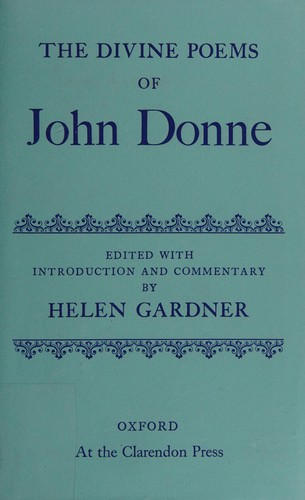The divine poems by John Donne
