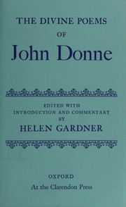 Cover of: The divine poems | John Donne