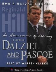Cover of: An advancement of learning: A Superintendent Dalziel & Sergeant Pascoe Mystery (Dalziel and Pascoe Mysteries (Audio)) (Dalziel and Pascoe Mysteries (Audio))