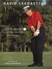 Cover of: David Leadbetter | David Leadbetter