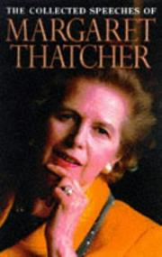 Cover of: Margaret Thatcher