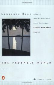 Cover of: The Probable World