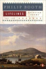 Cover of: Lifelines | Philip Booth